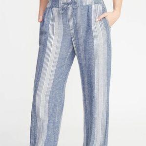 2/$30 Nwot striped wide leg pants XXL